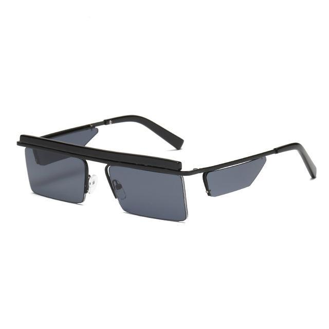 Retro Punk Square Sunglasses