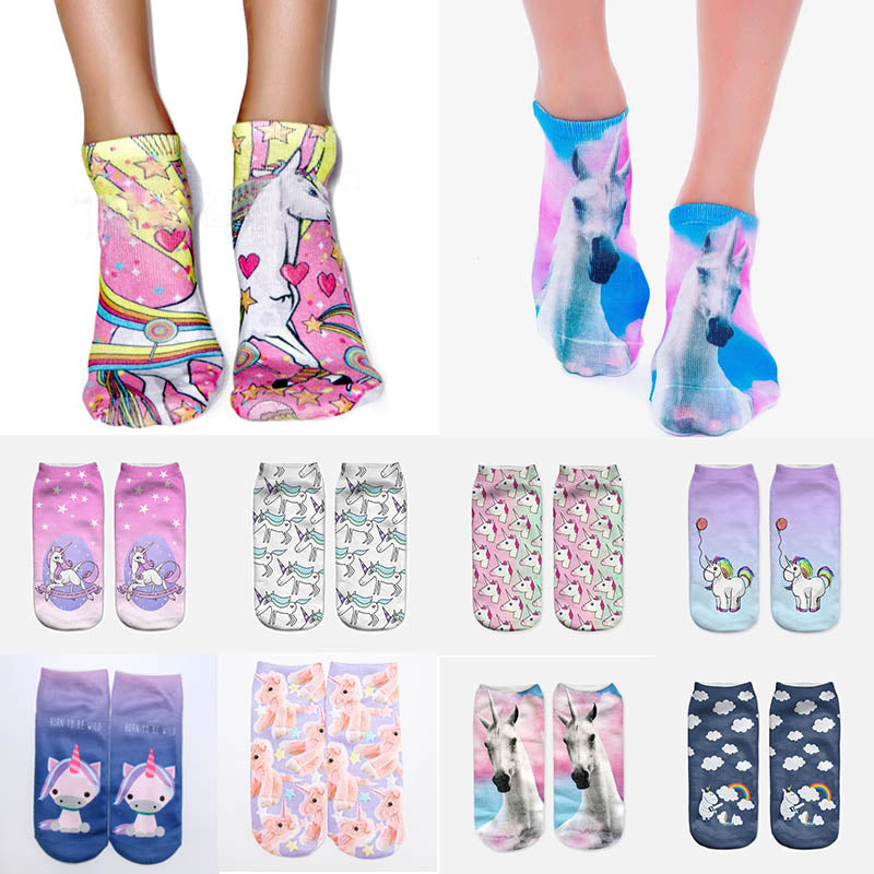 3D Print Unicorn Socks