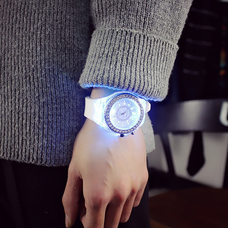 Silicone LED Watches