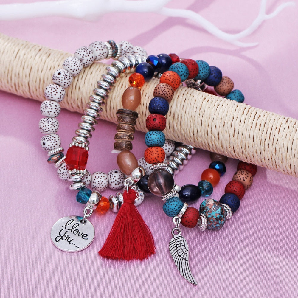 Beads and Charms Bracelets
