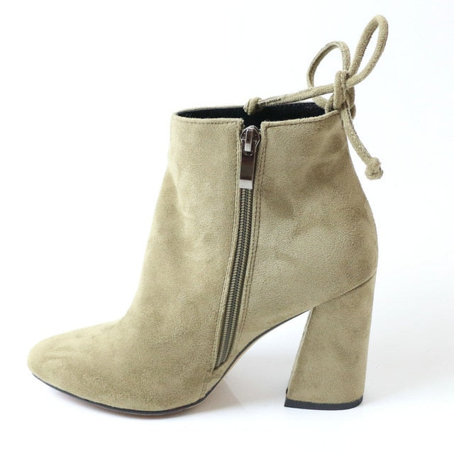 Stretch Ankle Boots