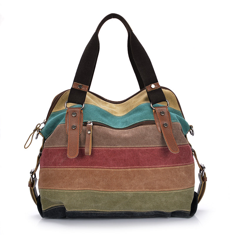 Rainbow Canvas Bag