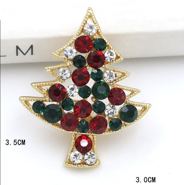Festive Brooches