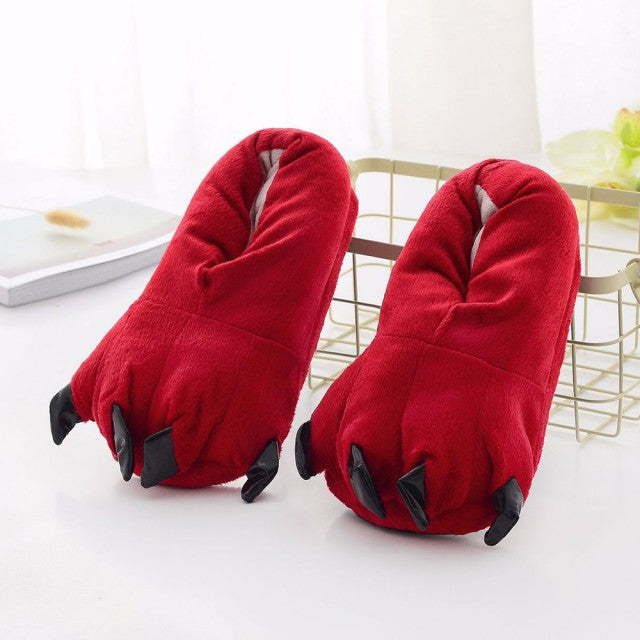 Animal Paw Slippers