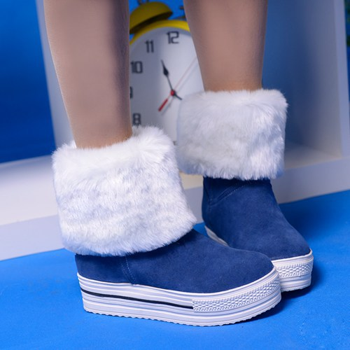 Fur Platform Shoes