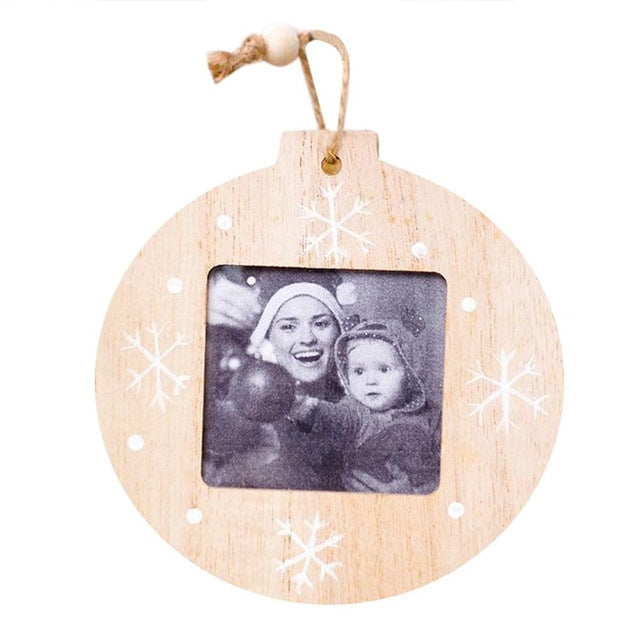 DIY Christmas Photo Frame