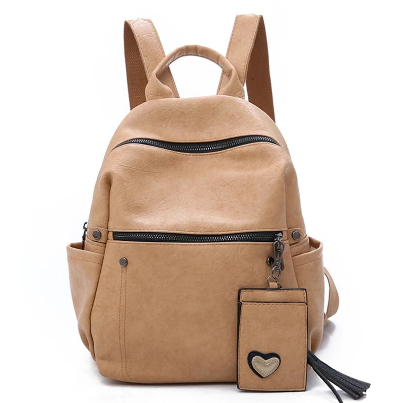 Soft Leather Backpacks