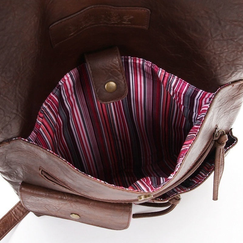 Vintage Folding Laptop Bag