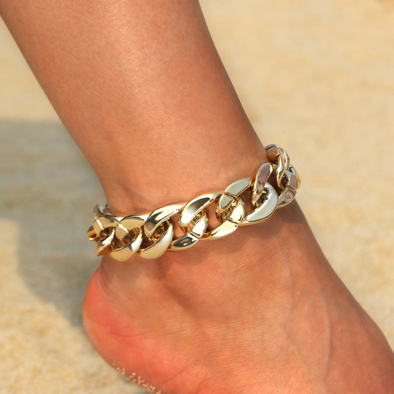 Chain Link Anklet