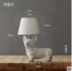 Dog Table Lamps