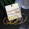 Studs and Hoops Earring Set