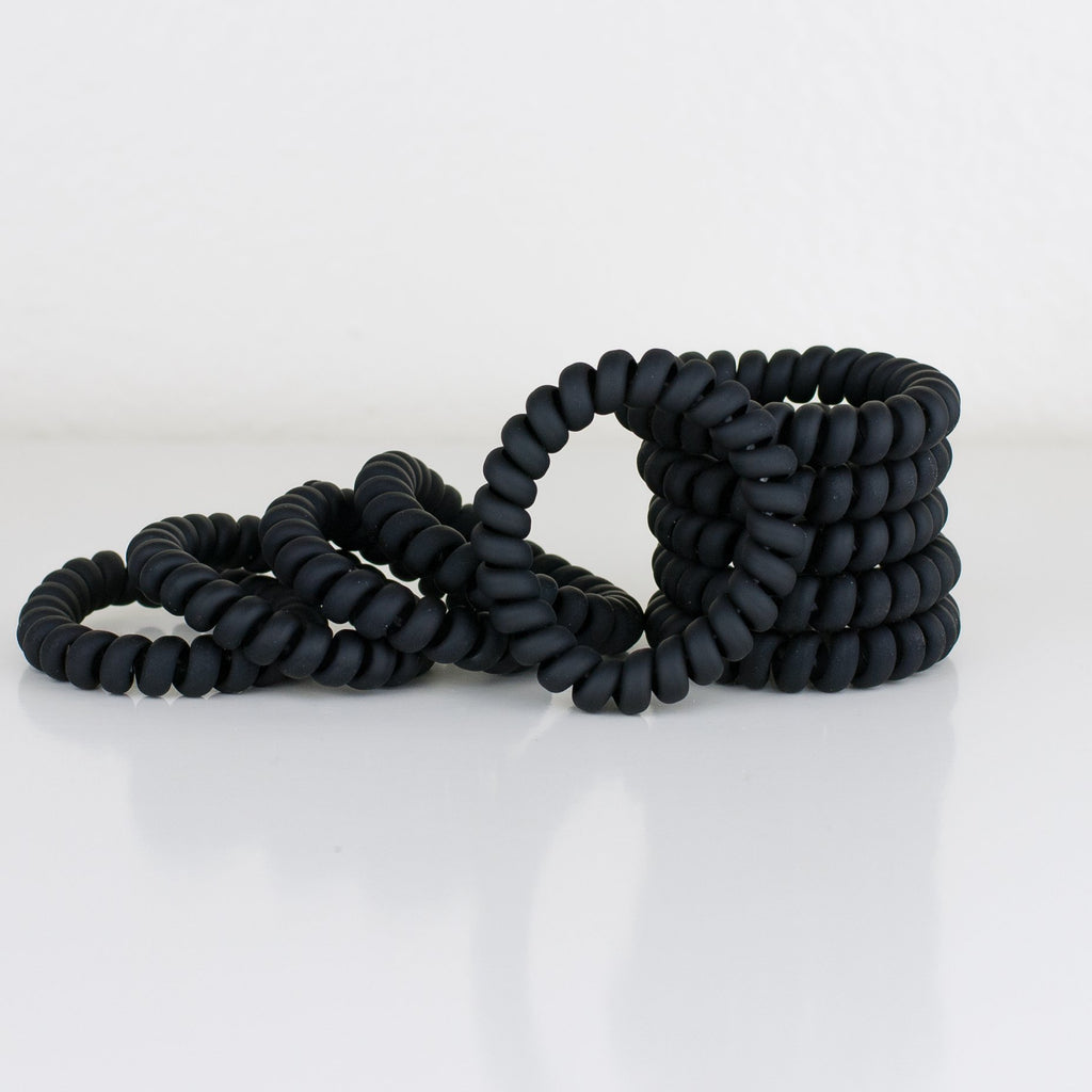 Matte Black Hair Tie