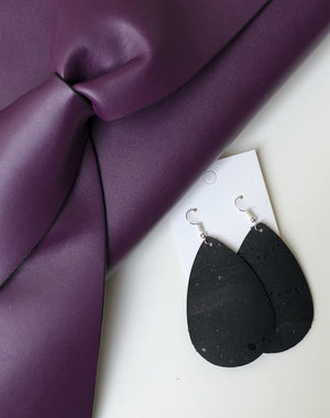 Black Cork Teardrop