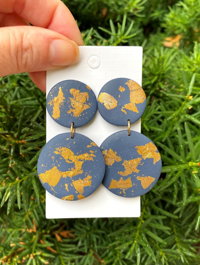 Clay Mod Trio Earrings