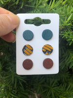 Yellow Studs- Single or Set