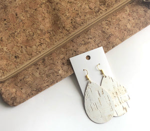 White Cork Teardrop