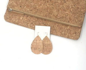 Rose Gold Cork Bonded to Leather