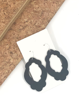 Black Duchess Earrings