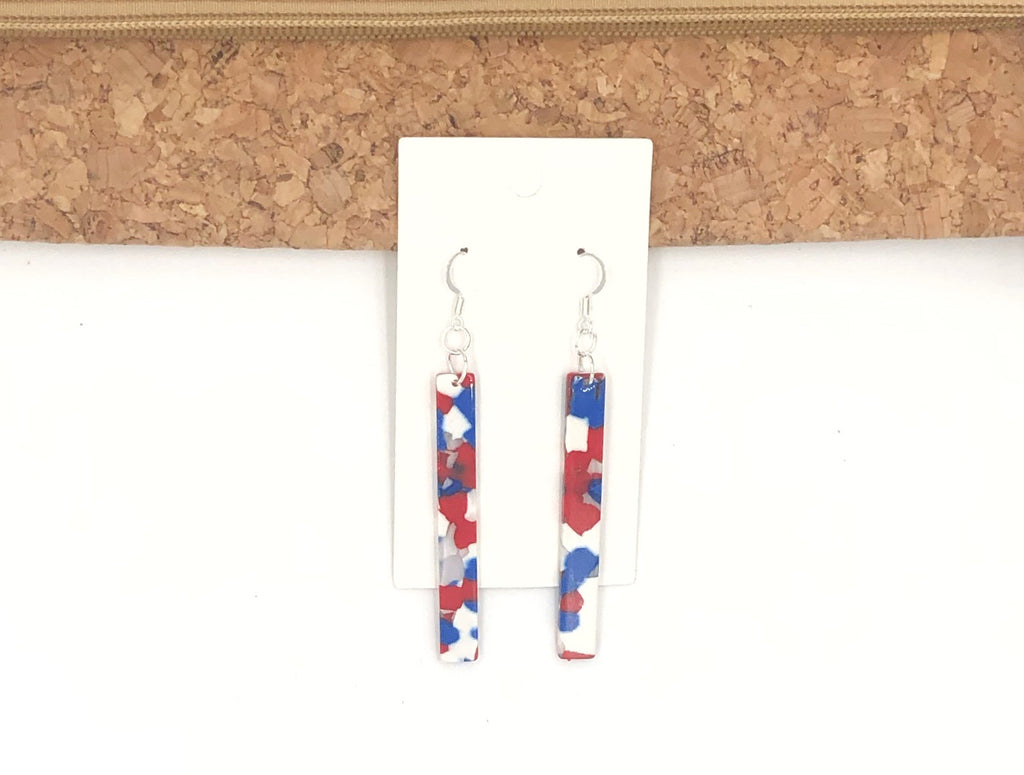 Red White and Blue Acrylic Sticks