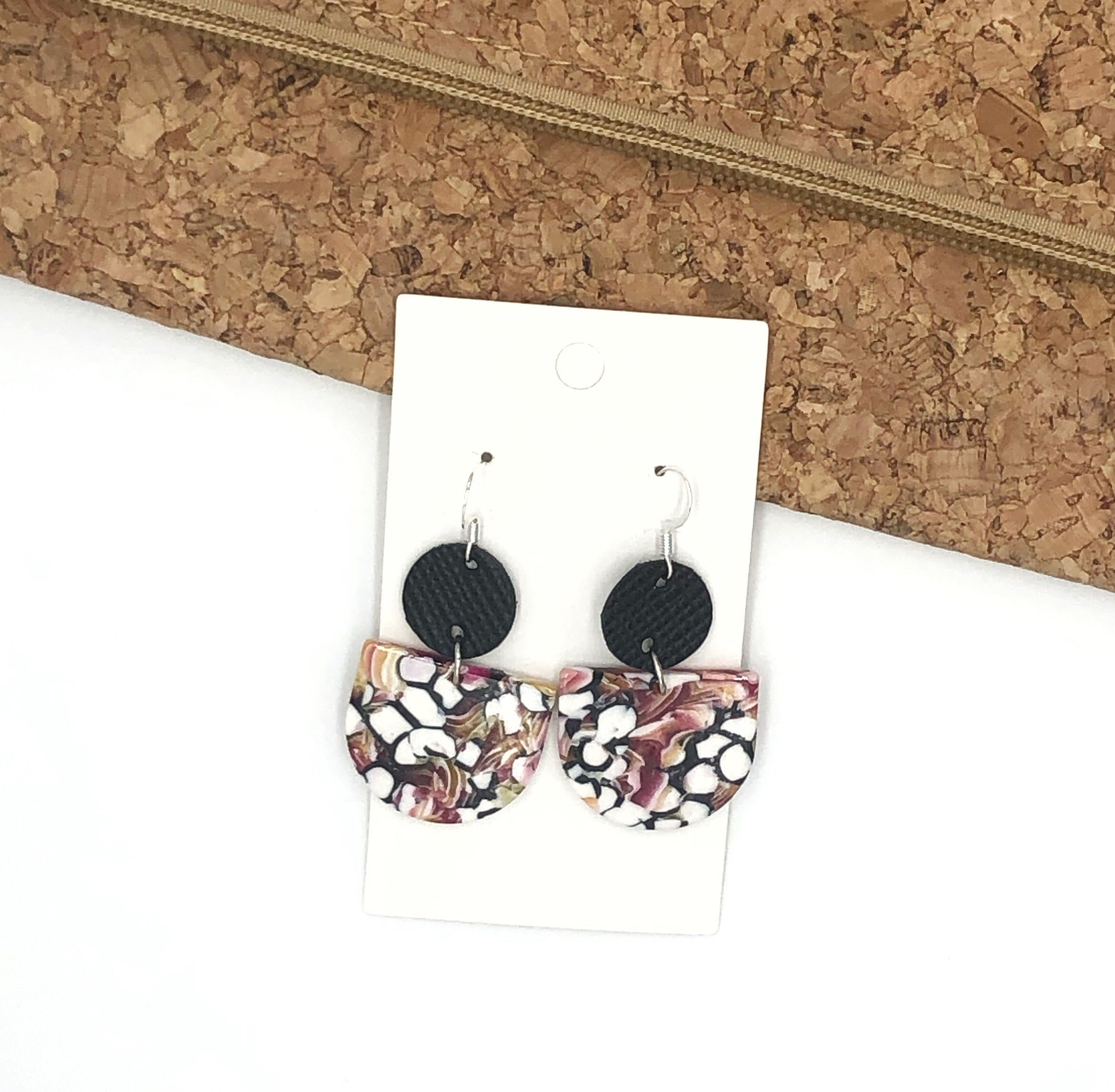 Pink and Black Mini Deco Drops