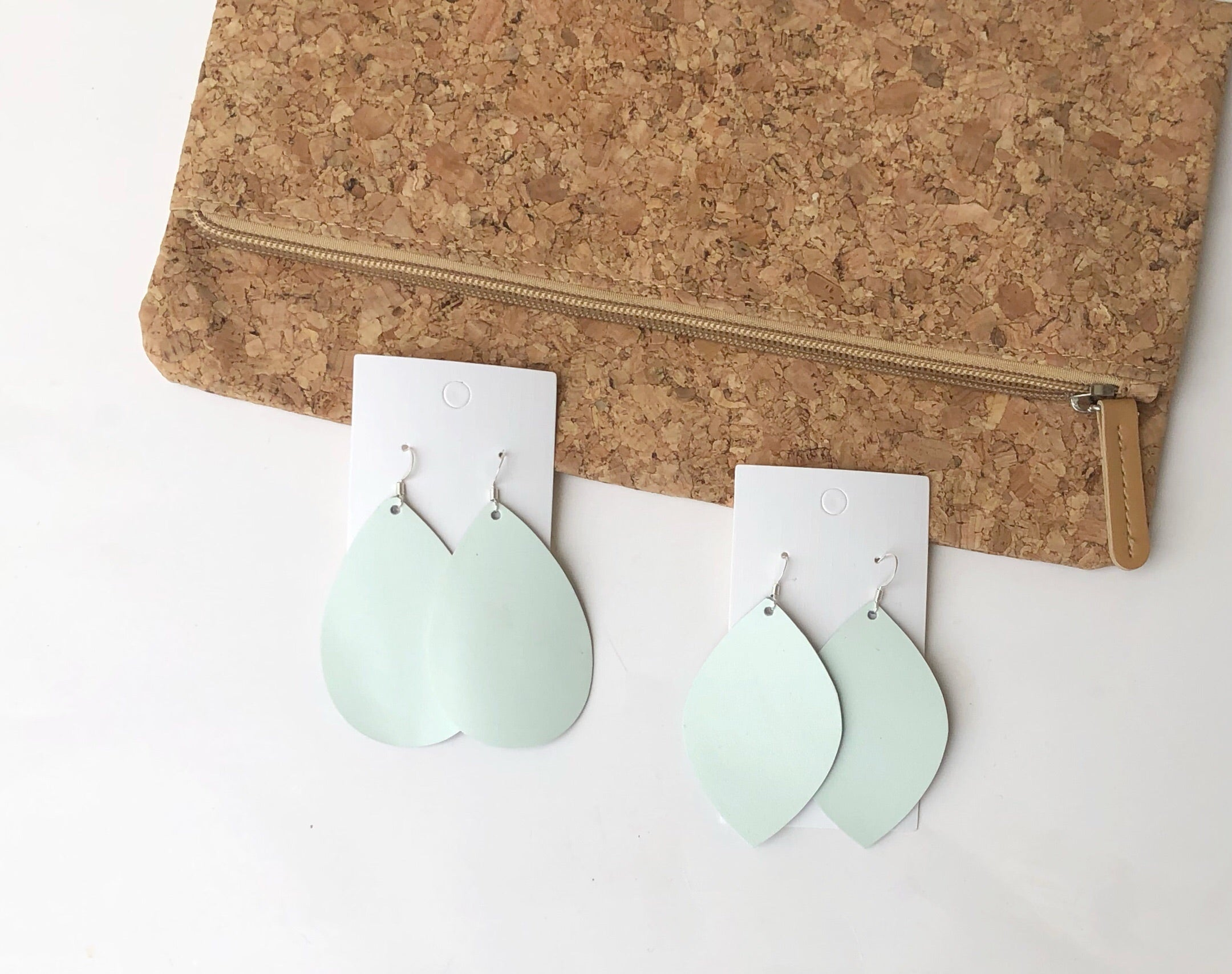 Hint of Mint Teardrop
