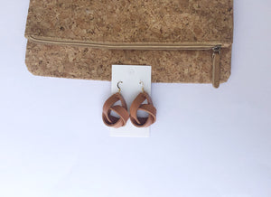 Camel Knotted Earrings