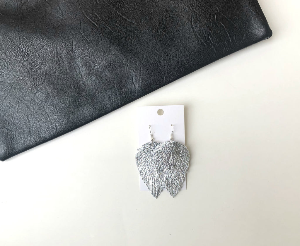 Silver Feather Fringe