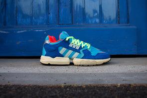 "Adidas ZX  Torsion Boost ""Bright Cyan"""