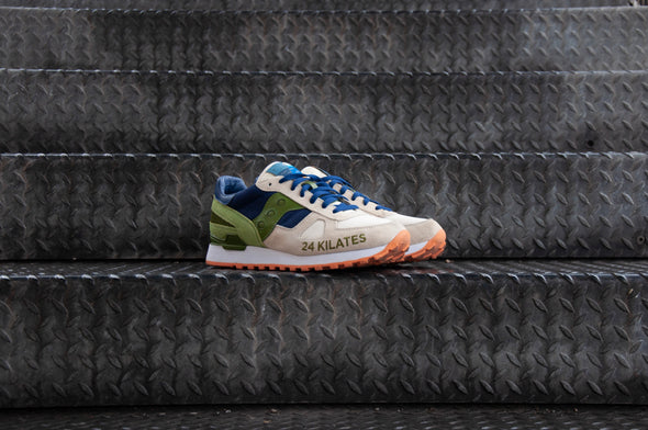 "24 Kilates x Saucony Shadow Original ""Mar y Montana"""