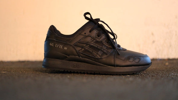 Asics Gel Lyte III Triple Black""""