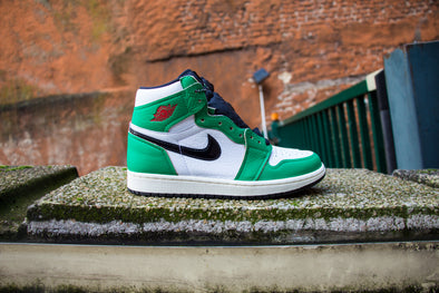 "Air Jordan 1 Retro High ""Lucky Green"""