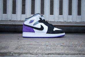 "Air Jordan 1 Mid SE ""Court Purple"""