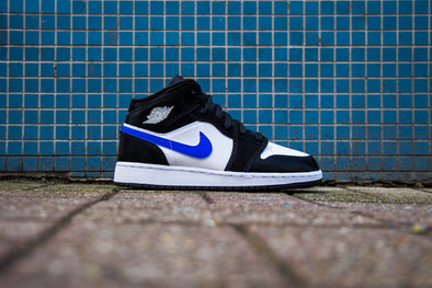 "Air Jordan 1 MID ""Racer Blue"""
