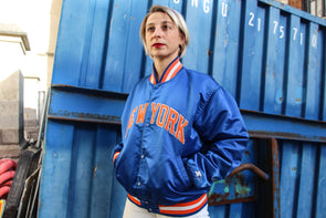 Starter Jacket Vintage New York Knicks