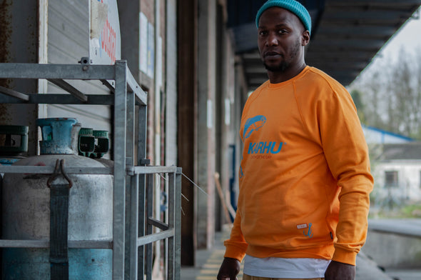 "Karhu x R.collection crewneck ""Catch of the day"""