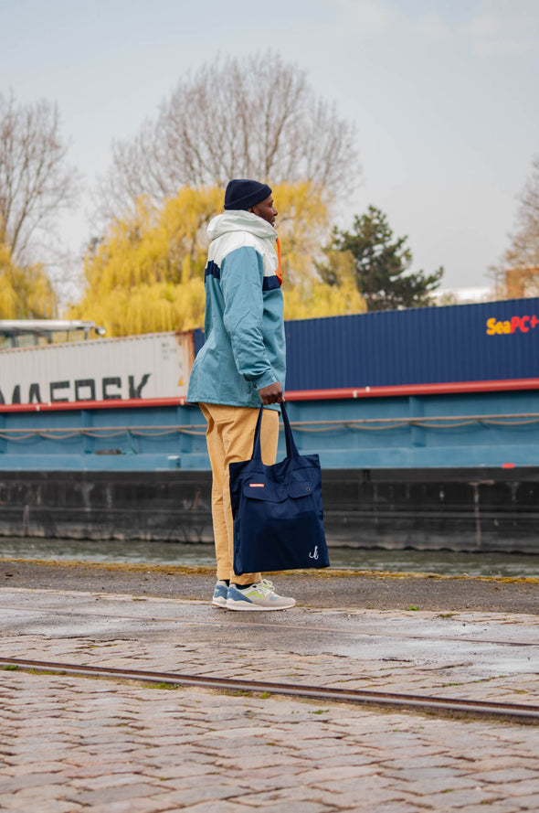 "Karhu x R.collection XL Anorak bag ""Catch of the day"""