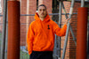 "LBC Clothing hoodie ""Lille university"" Orange"