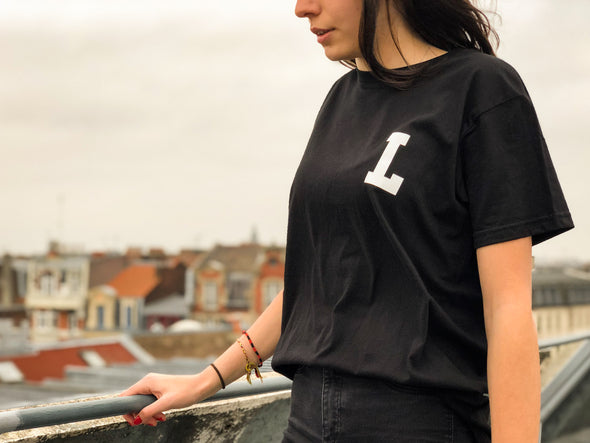 "LBC Clothing tee ""Lille university"" noir"