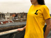 "LBC Clothing tee ""Lille university"" jaune"