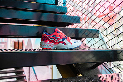 "Mizuno Wave Rider 1 ""Splatter Pack"""