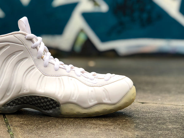 "Nike Air Foamposite One ""White Out"""