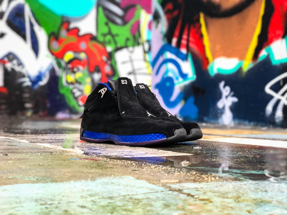 Nike air Jordan 18 Black sport royal