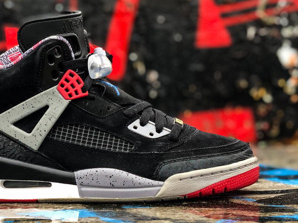 Air Jordan Spizike Black cement