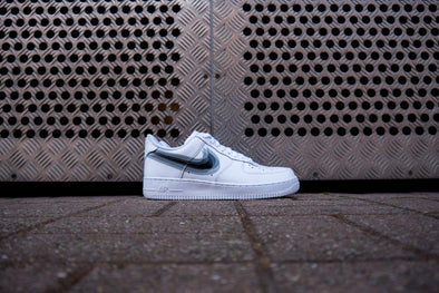 Nike Air Force 1 White Swoosh Black Superposé X Commandant Custom