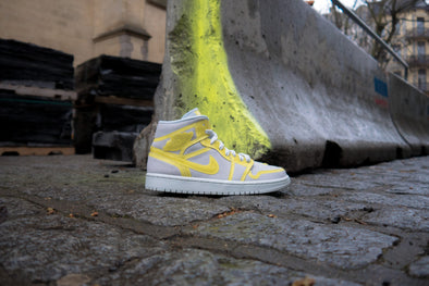 "Air Jordan 1 Mid LX ""Optic Yellow"""