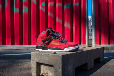 "Nike Air Jordan Spiz'ike Red ""Raging Bulls"""