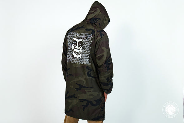 Obey Jacket Creeper Wall