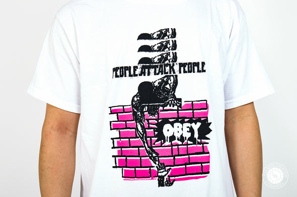 Obey Tee People Attack People