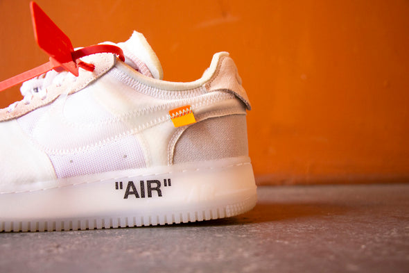 Off White X Nike Air Force 1 The Ten