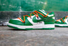 Off White X Nike Dunk Low Leather OW